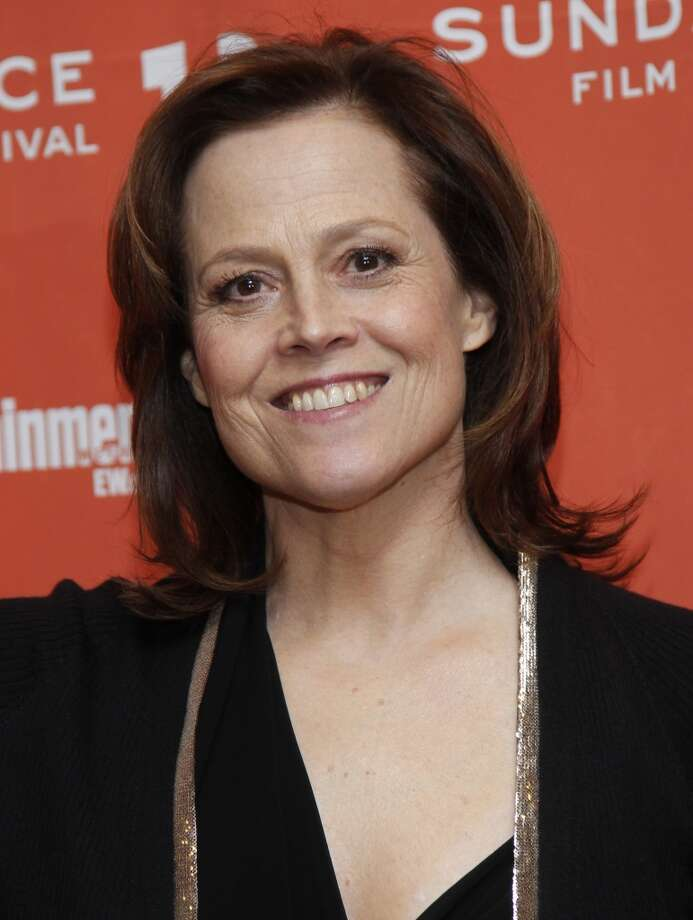 'Alien' and 'Avatar' actress Sigourney Weaver, StanfordIt was Weaver's idea to have her giant 'Avatar' character wear a Stanford tank top in the film. Photo: Danny Moloshok, AP