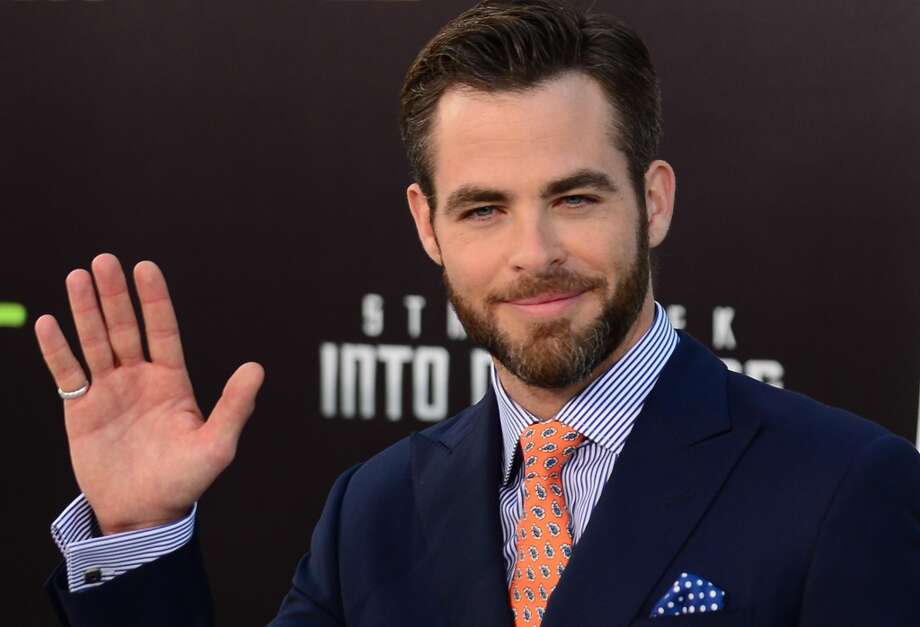 'Star Trek' and 'Star Trek Into Darkness' actor Chris Pine, Cal Photo: Frederic J. Brown, AFP/Getty Images