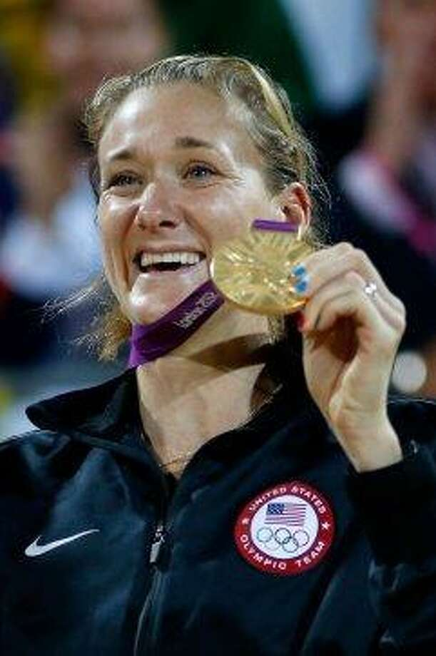 Olympic beach volleyball star Kerri Walsh Jennings, Stanford Photo: Jamie Squire, Getty Images