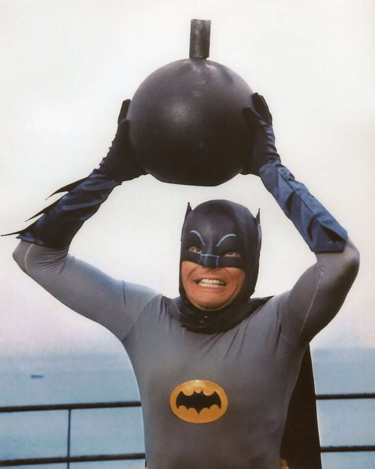 'Batman' actor Adam West, StanfordWest took post-grad courses at Stanford after attending Whitman College. Photo: File, Chronicle File Photo