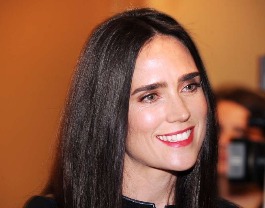 Actress Jennifer Connelly, Stanford Photo: Bob Luckey, Greenwich Time