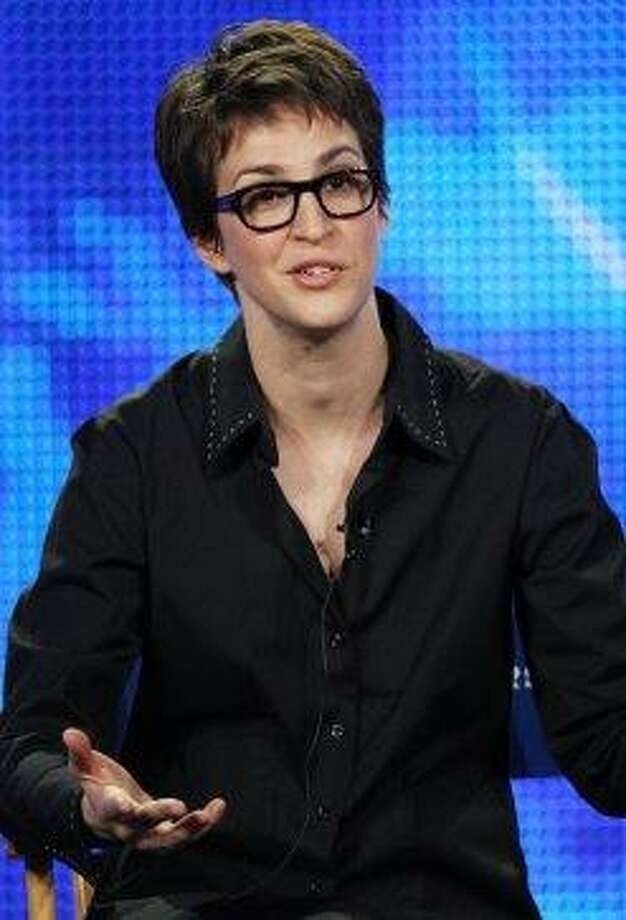 MSNBC host Rachel Maddow, Stanford Photo: Frederick M. Brown, Getty Images
