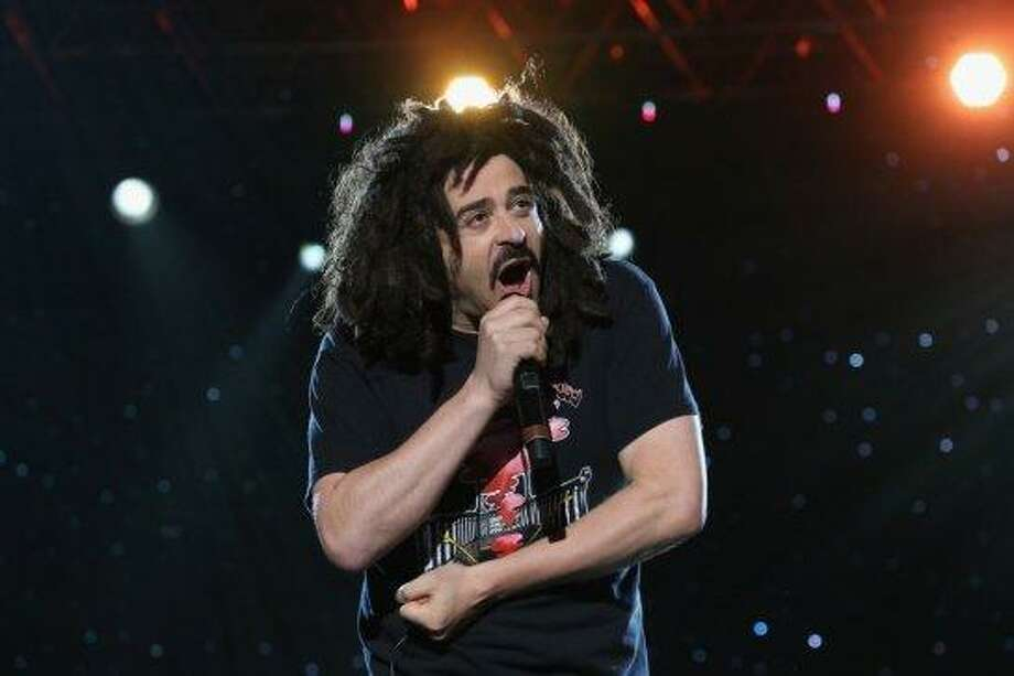 Counting Crows lead singer Adam Duritz, Cal Photo: Neilson Barnard, Getty Images