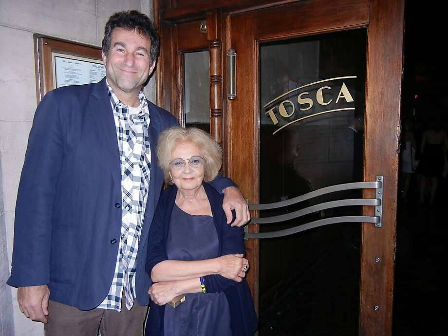 New Tosca Cafe owner Ken Friedman with saloonkeeper Jeannette Etheredge. Photo: Catherine Bigelow, Special To The Chronicle