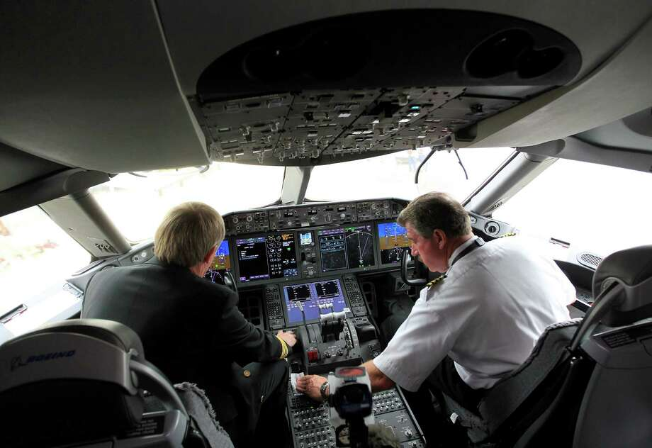 Airline pilots and copilotsMedian annual pay: $114,200Source: Bloomberg News Photo: Karen Warren, Houston Chronicle / © 2013 Houston Chronicle