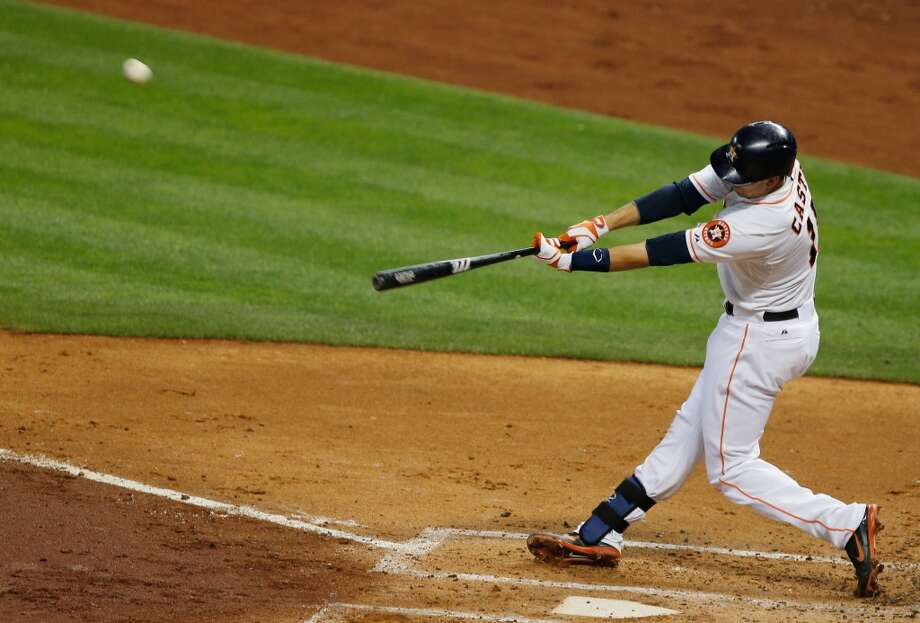 May 20: Astros 6, Royals 5Jason Castro homers to left field in the third inning against the Royals.