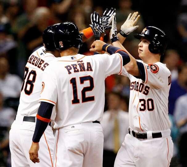 May 20: Astros 6, Royals 5  Matt Dominguez's three-run blast in the fourth