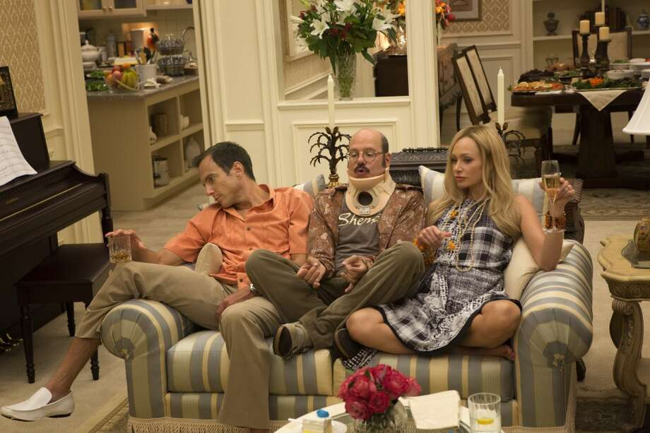 "Will Arnett, David Cross and Portia de Rossi in a scene from Netflix's ""Arrested Development."""