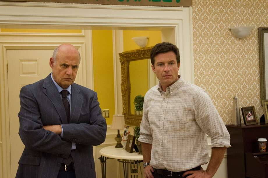 "Jeffrey Tambor (L) and Jason Bateman (R) in a scene from Netflix's ""Arrested Development."""