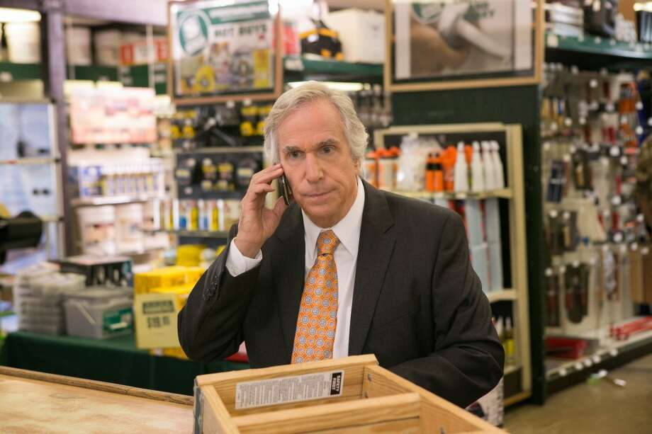 "Guest star Henry Winkler in a scene from Netflix's ""Arrested Development."""
