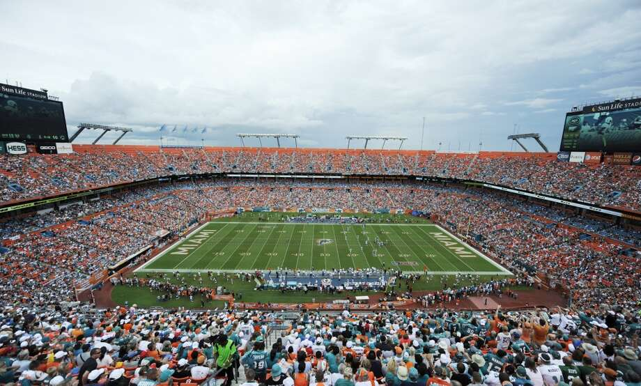 Stadium:Sun Life Stadium. It needs work, and the state legislature failed to approve a referendum that could have provided $350 million in improvements. It's the oldest stadium of the three competitors.Cost: $115 millionOpened:v August, 1987Suites: 216