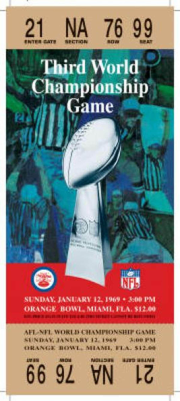 Super Bowl III Date: Jan. 12, 1969 Location: Orange Bowl, Miami Result: New York Jets 16, Baltimore 7 Price: $12