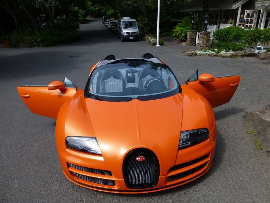 The average Veyron owner has 35 cars. At least one has as many as 200.