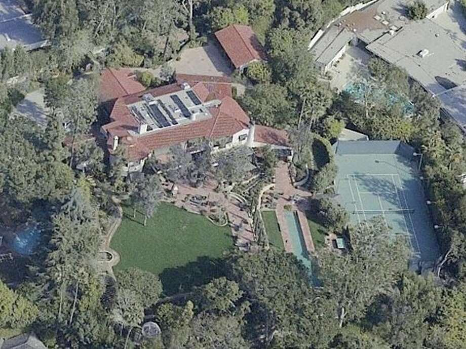 Aerial view of estate. Photo via Business Insider