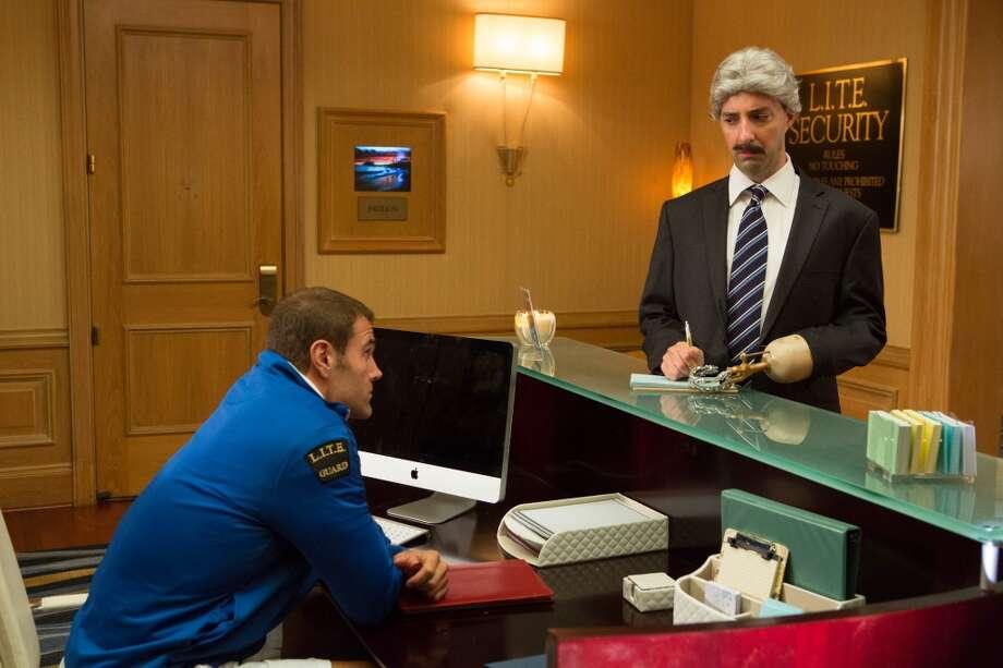 "Tony Hale (R) in a scene from Netflix's ""Arrested Development."""