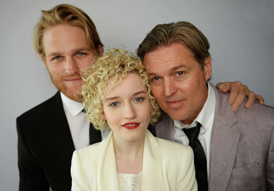 "(L-R) Actor Wyatt Russell, actress Julia Garner and actor Bill Sage of the film, ""We Are What We Are"" poses for a portrait at the Variety Studio  at Chivas House on May 20, 2013 in Cannes, France. Photo: Michael Buckner / 2013 Getty Images"