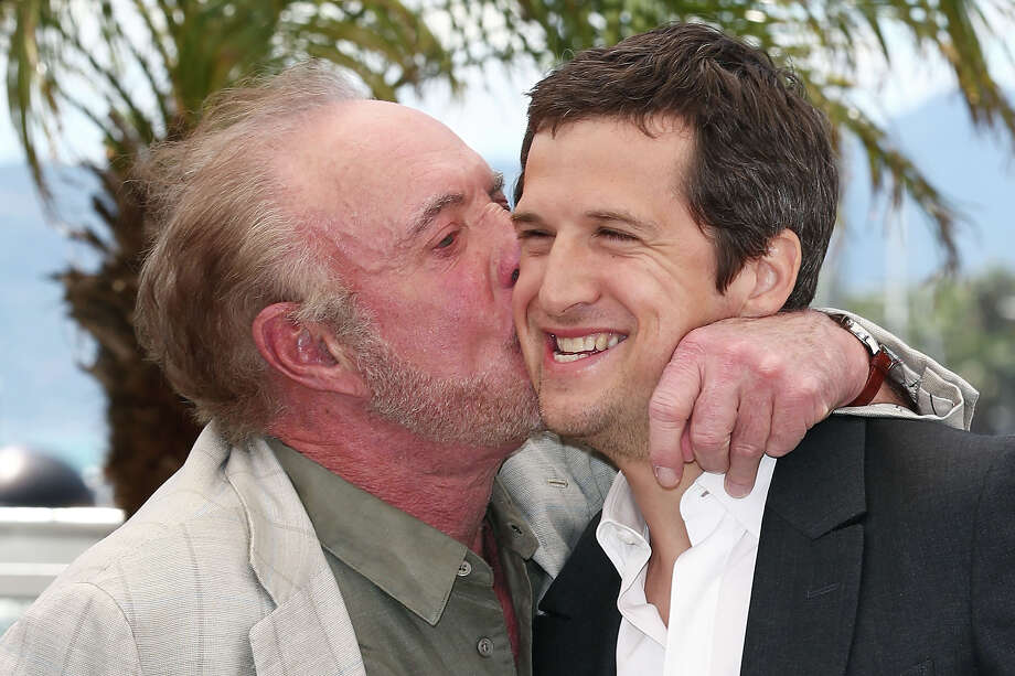 (L-R) Actor James Caan and director Guillaume Canet attend the photocall for 'Blood Ties' at The 66th Annual Cannes Film Festival on May 20, 2013 in Cannes, France. Photo: Andreas Rentz, Getty Images / 2013 Getty Images