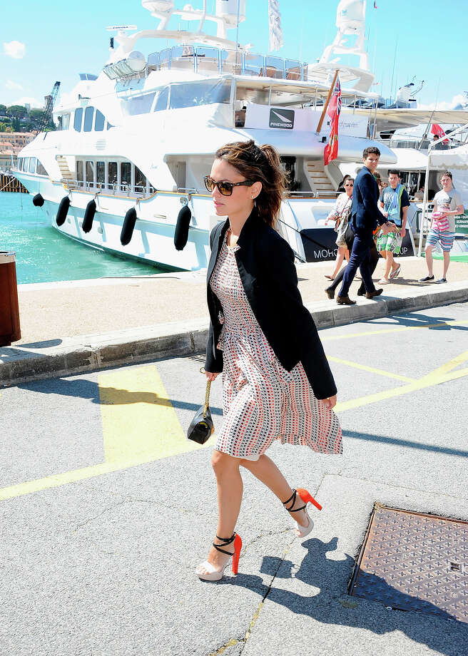 Rachel Bilson is seen The 66th Annual Cannes Film Festival on May 20, 2013 in Cannes, France. Photo: Luca Teuchmann, FilmMagic / 2013 Luca Teuchmann