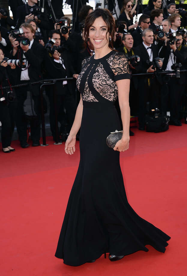 """Aure Atika attends the """"Blood Ties"""" Premiere during the 66th Annual Cannes Film Festival at Grand Theatre Lumiere on May 20, 2013 in Cannes, France. Photo: Ian Gavan / 2013 WireImage"""