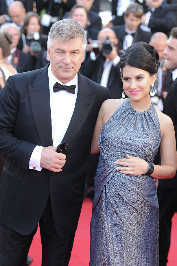 Hilaria Thomas (R) and actor Alec Baldwin attend the premiere for 'Seduced and Abandoned' during The 66th Annual Cannes Film Festival at the Palais des Festivals on May 20, 2013 in Cannes, France. Photo: Dave J Hogan, Getty Images / 2013 Dave J Hogan