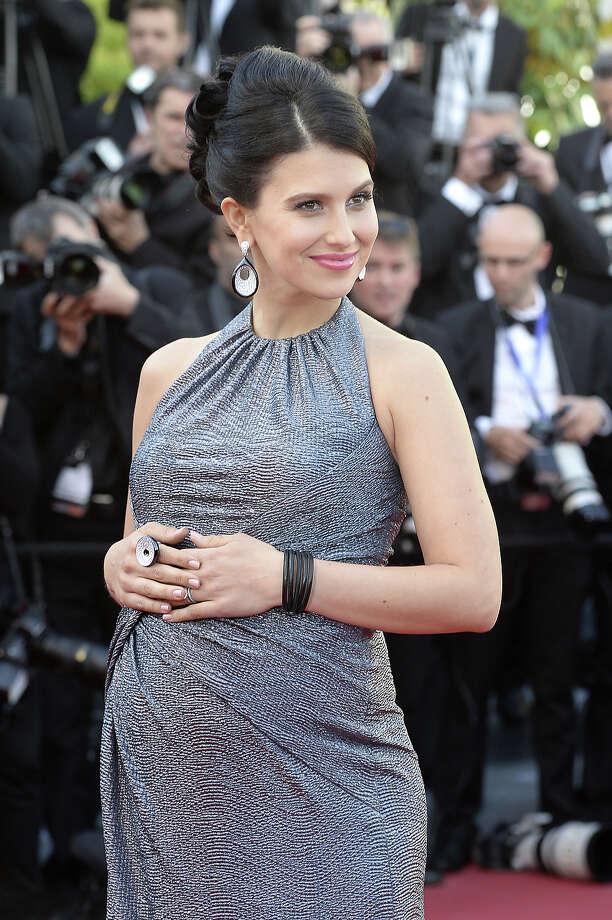 "US yoga instructor Hilaria Thomas Baldwin poses on May 20, 2013 as she arrives for the screening of the film ""Blood Ties"" presented Out of Competition at the 66th edition of the Cannes Film Festival in Cannes. Cannes, one of the world's top film festivals, opened on May 15 and will climax on May 26 with awards selected by a jury headed this year by Hollywood legend Steven Spielberg. Photo: ANNE-CHRISTINE POUJOULAT, AFP/Getty Images / 2013 AFP"