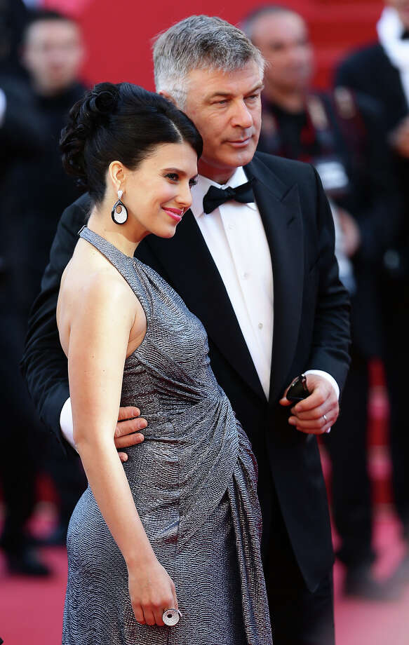 Hilaria Thomas (L) and actor Alec Baldwin attend the premiere for 'Seduced and Abandoned' during The 66th Annual Cannes Film Festival at the Palais des Festivals on May 20, 2013 in Cannes, France. Photo: Vittorio Zunino Celotto, Getty Images / 2013 Getty Images