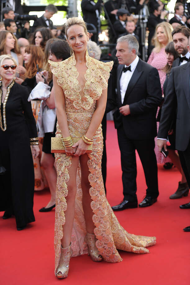Lady Victoria Hervey attends the 'Blood Ties' Premiere during the 66th Annual Cannes Film Festival at the Palais des Festivals on May 20, 2013 in Cannes, France. Photo: Dave J Hogan, Getty Images / 2013 Dave J Hogan