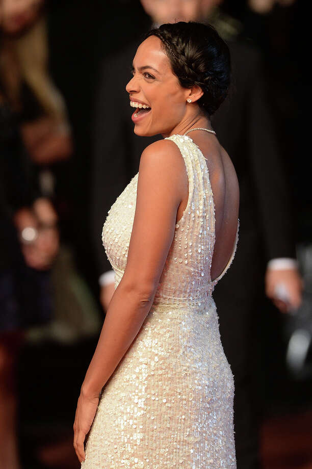 Actress Rosario Dawson attends the 'As I Lay Dying' Premiere during the 66th Annual Camnes Film Festival at the Palais des Festivals on May 20, 2013 in Cannes, France. Photo: Dave J Hogan, Getty Images / 2013 Dave J Hogan