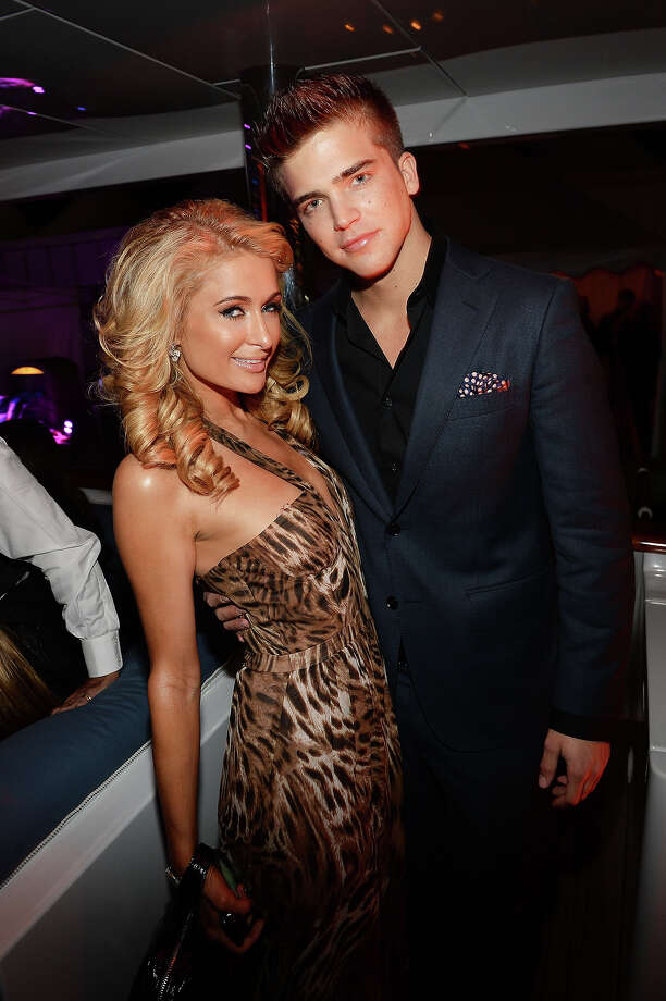 "Paris Hilton (L) and River Viiperi attend the ""Seduced and Abandoned"" Premiere and After Party during the 66th Annual Cannes Film Festival at Lady Joy Yacht on May 20, 2013 in Cannes, France. Photo: Michael Buckner / 2013 Getty Images"
