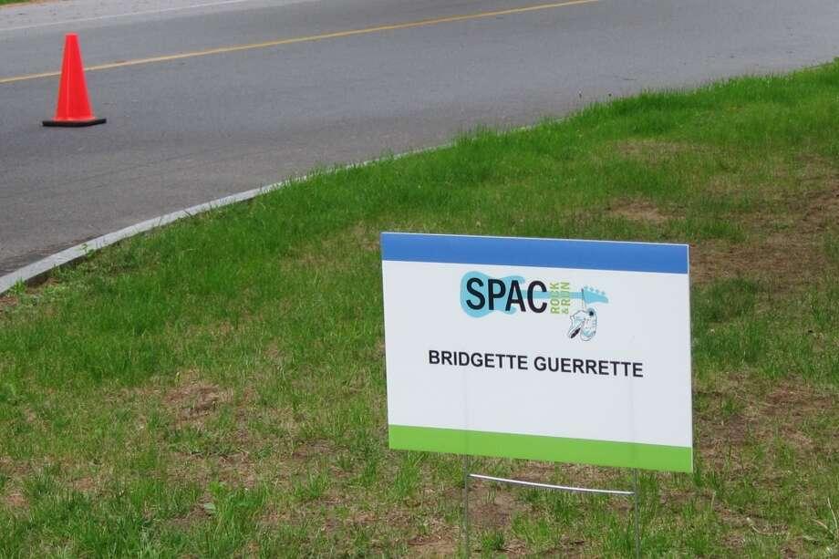 Cone alone, a hard rain is falling. Missed Bridgette Guerrette.