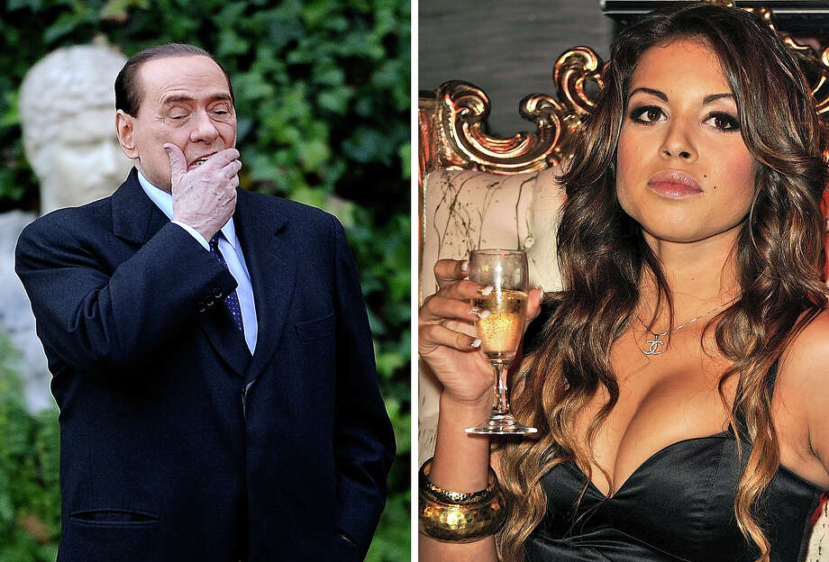 Former Italian Prime Minister Silvio Berlusconi's 2010 relationship with Moroccan Karima El Mahroug, nicknamed Ruby Rubacuori (Italian for Heart Stealer),' has led to a conviction on prostitution charges for the Italian leader. Photo: FILIPPO MONTEFORTE, AFP/Getty Images / 2011 AFP
