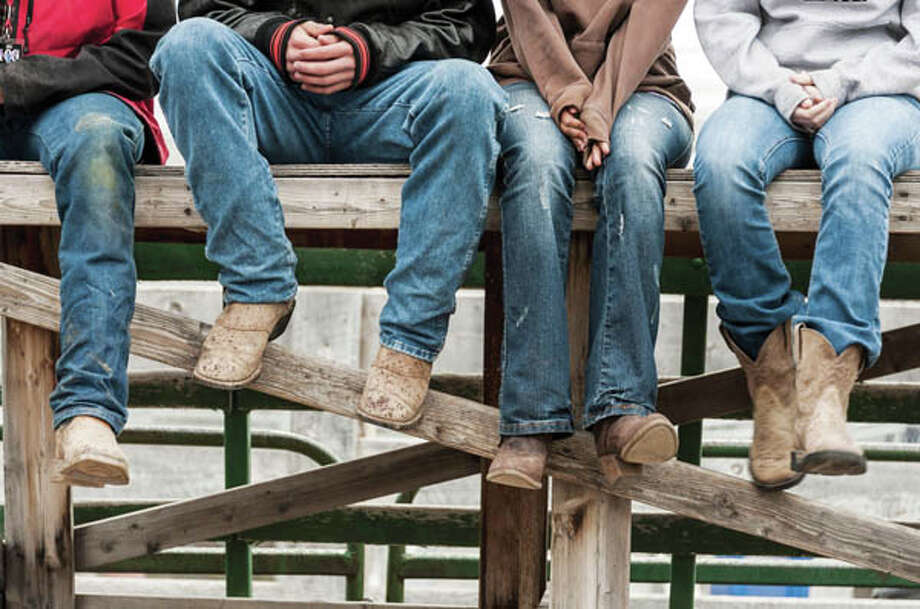 1873Jeans are invented and patented by German immigrant Levi Strauss and Russian immigrant Jacob Davis. Today, U.S. consumers spend about $14 billion a year on jeans.  source: tinyurl.com/hl13jeans Photo: Jeffrey Kaphan, Getty Images/Flickr RF / Flickr RF