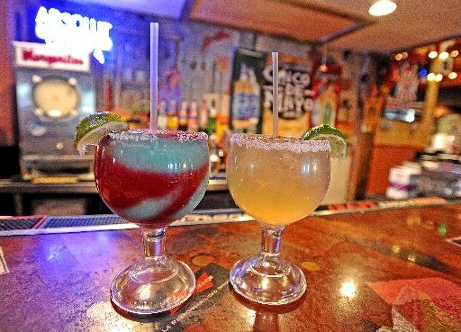 The Swirl Margarita, left, and the 3G Margarita, right. Randy Edwards/cat5