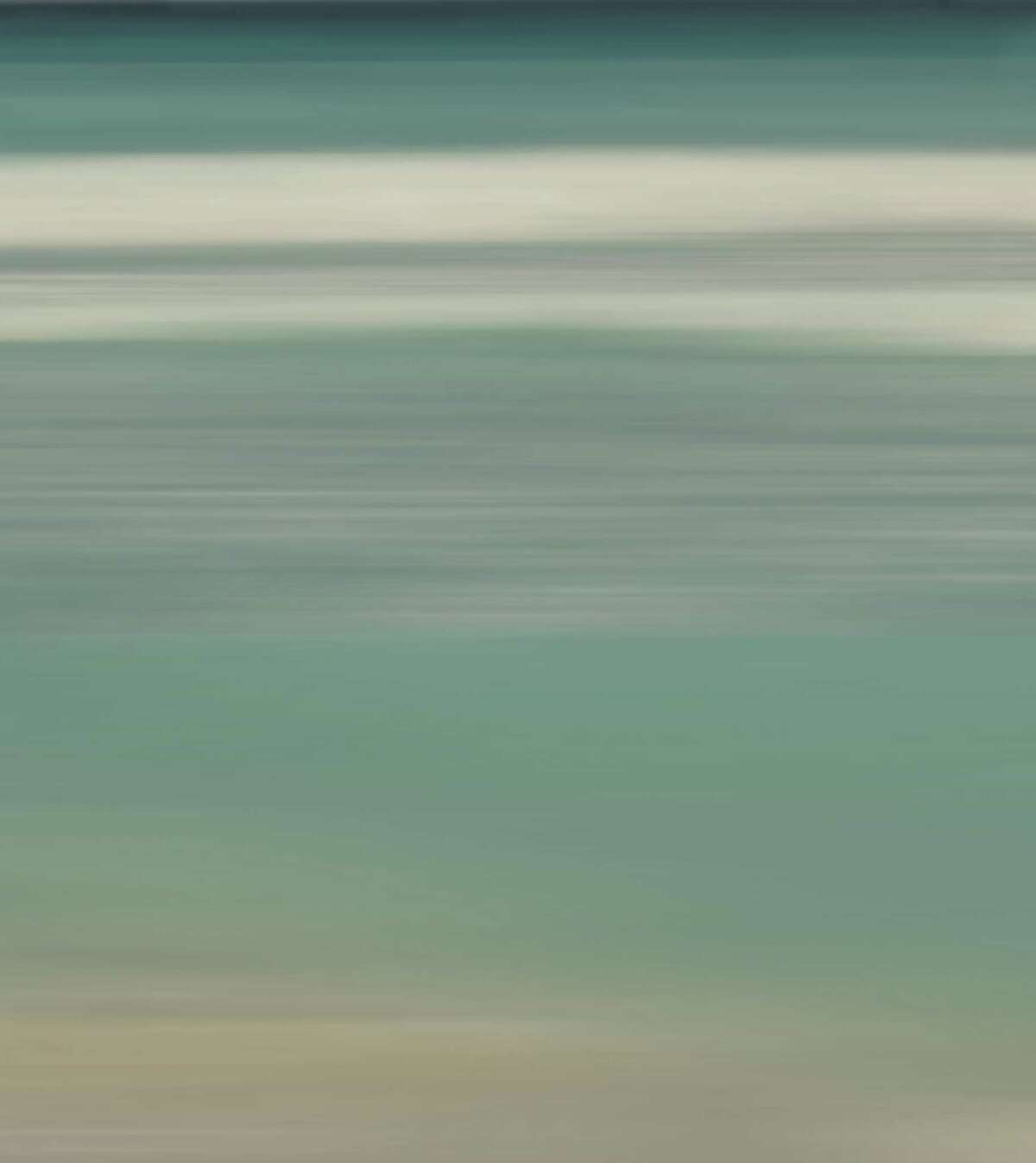 """Bonnie Edelman's """"Surf and Sand"""" is among the water-themed artwork on display at Heather Gaudio Fine Arts in New Canaan in the exhibition """"Waterways II."""""""