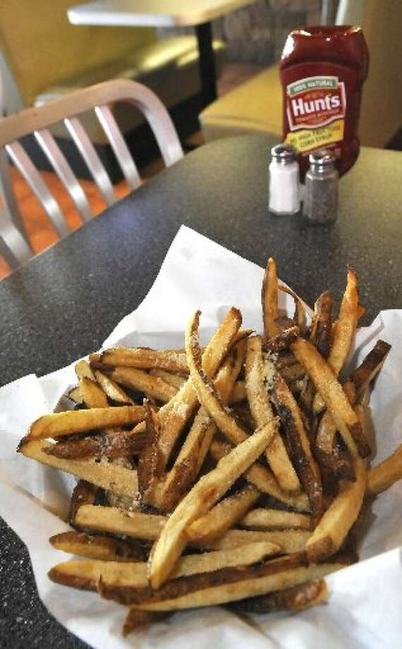 Parmesan Truffle fries.