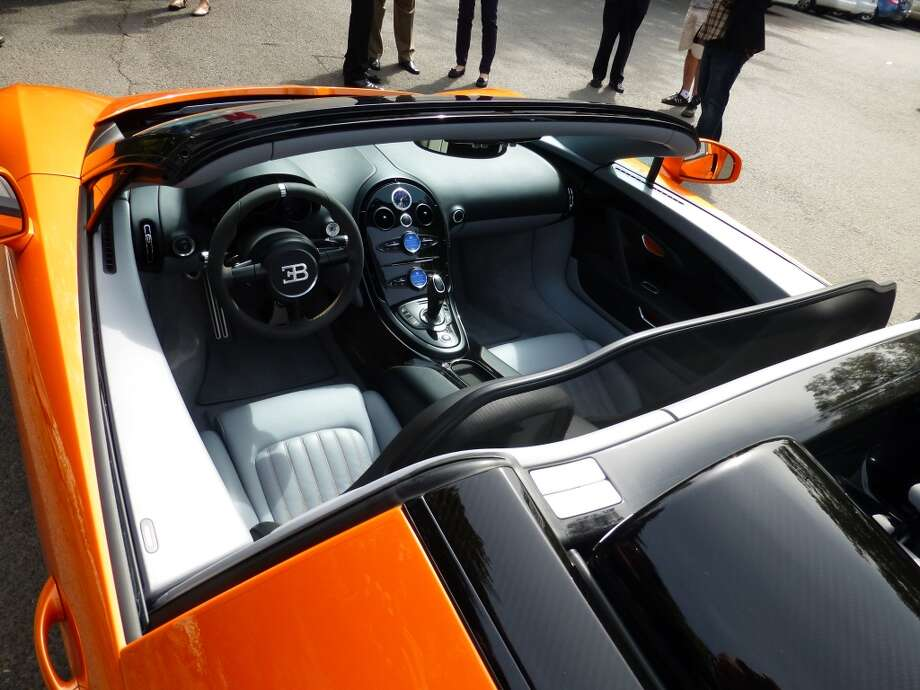 The Grand Sport Vitesse recently set a world record for top speed of an open-top car (254 mph.)