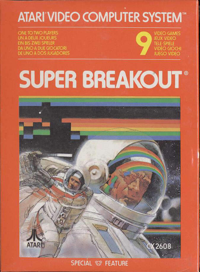 """Super Breakout"" - 1978 Photo: Courtesy ATARI"