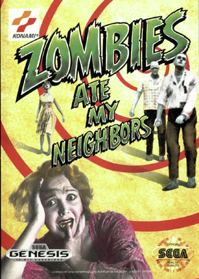 """Zombies Ate My Neighbors"" - 1993 Photo: Courtesy Lucas Arts"