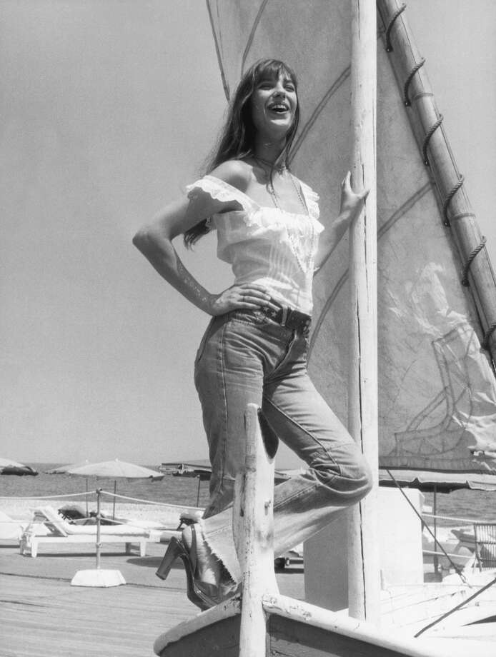 English actress Jane Birkin enjoys a sun-soaked holiday on the Cote d'Azur, 16th July 1973.