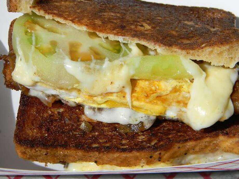 The Golden Grill Cuisine: AmericanLocation: Locations vary. Check their website for upcoming stops.Website: goldengrillhtx.comBonus: The Golden Grill is a one-stop sandwich destination.