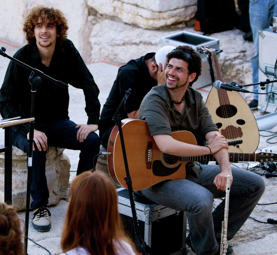 The Shuk, an Israeli-based world music group, will be in Westport, Conn., on Sunday, May 26, 2013, to help celebrate Israel's 65th anniversary. The band's 5 p.m. performance at the Westport Country Playhouse will follow a marketplace of Israeli products, crafts and foods at 2 p.m. For more information, visit http://www.westportplayhouse.org. Photo: Contributed Photo
