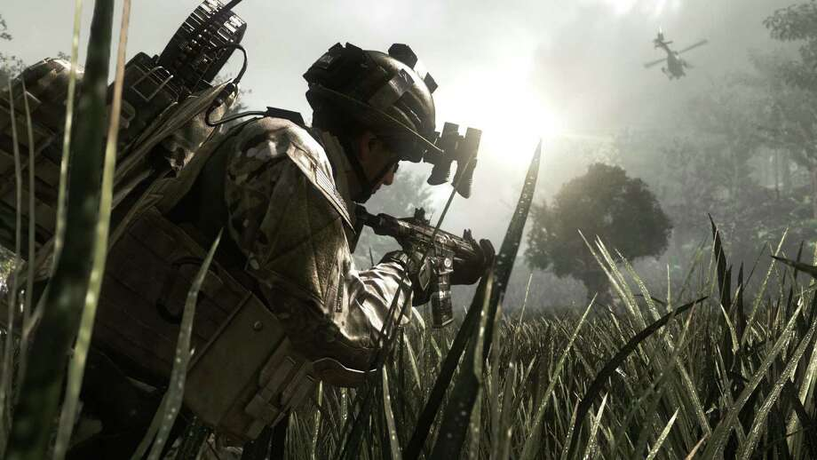 "This video game image released by Activision shows a scene from ""Call of Duty: Ghosts,""  the tenth installment in the Call of Duty series. Microsoft is seeking to stay ahead of rivals in announcing that new content that can be downloaded for the popular ""Call of Duty"" game will launch first on Xbox One. (AP Photo/Activision) Photo: Associated Press / Activision"
