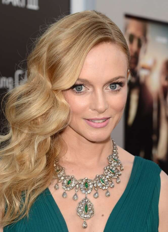 """WESTWOOD, CA - MAY 20:  Actress Heather Graham arrives at the premiere of Warner Bros. Pictures' """"Hangover Part 3"""" on May 20, 2013 in Westwood, California.  (Photo by Kevin Winter/Getty Images)"""