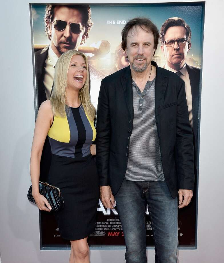 "WESTWOOD, CA - MAY 20:  Actors Susan Yeagley (L) and Kevin Nealon attend the premiere of Warner Bros. Pictures' ""Hangover Part 3"" at Westwood Village Theater on May 20, 2013 in Westwood, California.  (Photo by Frazer Harrison/Getty Images)"