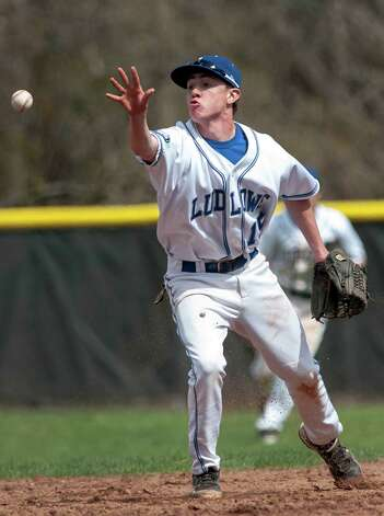 Fairfield Ludlowe's Connor Quinn is this week's Fairfield Citizen male athlete of the week for the week May 12 through 18. Photo: Mark Conrad / Connecticut Post Freelance