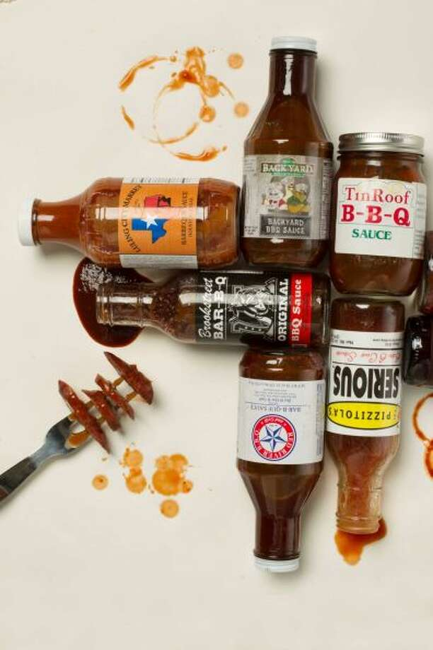 We gathered  bottled Houston-area restaurant sauces for a taste. The surprise was how the sauces varied in color, texture and taste. 