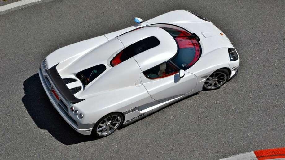 Koenigsegg CCX: 245 mph, 0-60 in 3.2 secs.
