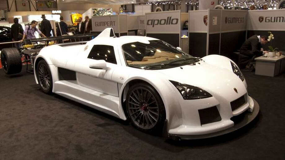 Gumpert Apollo: 225 mph, 0-60 in 3.0 secs.