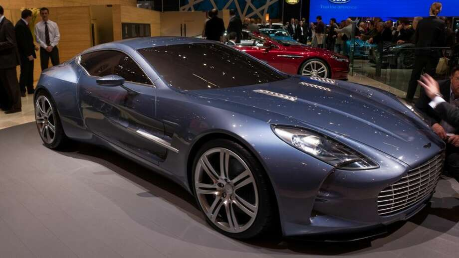 Aston Martin One-77: 220 mph, 0-60 in 3.4 secs.