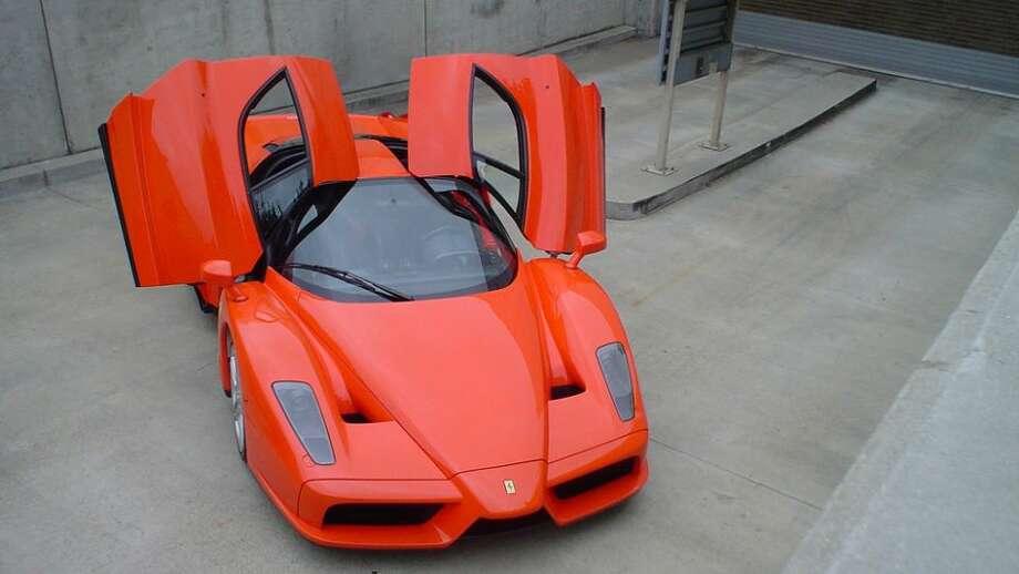 Ferrari Enzo: 217 mph, 0-60 in 3.4 secs.